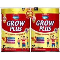 Bộ 2 hộp sữa bột Vinamilk Dielac Grow Plus 2+ 900g