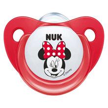 Bộ 2 ti giả silicone Nuk Mickey Sleeptime 6-18M NU34339