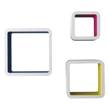 Bộ 3 kệ ô vuông
