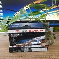 bộ 4 bugi Bosch FR8NPP30W  Platinum chân dài giác 16 ren14 lắp cho xe INNOVA