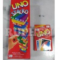 Bộ Bài Uno + Thẻ Bài Uno + 2 Xí Ngầu