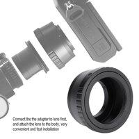 Bộ Chuyển Đổi Ống Kính Nhẫn Cho Olympus Panasonic Máy Ảnh Không Gương Lật T2-M4/3 Kính Thiên Văn Núi