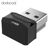 Bộ Chuyển Đổi USB Mạng 2.0 Không Dây Dodocool N150 Mini Không Dây Wifi Dongle 2.4 GHz 150 Mbps Hỗ Trợ Windows XP/Vista/7/8/8.1/10/Mac OS X 10.4-10.10 Đen [bonus]
