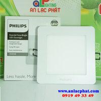 Bộ đèn downlight VUÔNG LED DN024B LED6 D100 SQR Philips