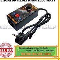 Bộ Điều Khiển Tốc Độ Máy Mài Điện Msc Zdw-315 Ac220 Volt 2000 Wats