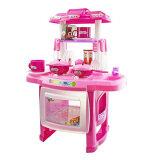 Bộ đồ chơi nhà bếp Kitchen Cooking Toy Play set for Children and Parents(Pink)
