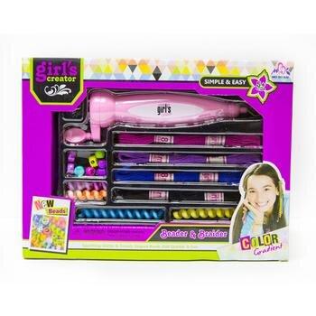Bộ đồ chơi phụ kiện làm tóc Paktattoys HSP803386