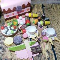 Bộ đồ chơi tiệc Socola Mother Garden| Đồ chơi nấu ăn | Đồ chơi nhà bếp| Đồ chơi cho bé