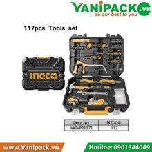 Bộ dụng cụ sửa chữa Ingco HKTHP21171 (117 chi tiết)