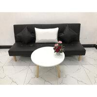 Bộ ghế sofa giường 1m7x90 sofa bed phòng khách linco22  sofa vải, sofa nệm - Ghế dài và bàn tròn