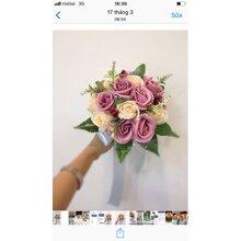 Bó hoa cưới cầm tay