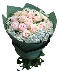 Bo hoa hong da tinh yeu dau tien HT163