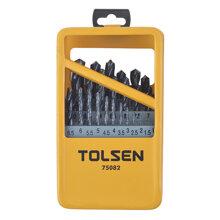 Bộ mũi khoan sắt Tolsen 75082