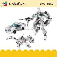 Đồ chơi lắp ráp robot transformers thế hệ mới lele brother 8557-1
