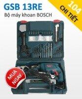 Bộ Máy Khoan Bosch GSB 13RE Set 100 Chi Tiết