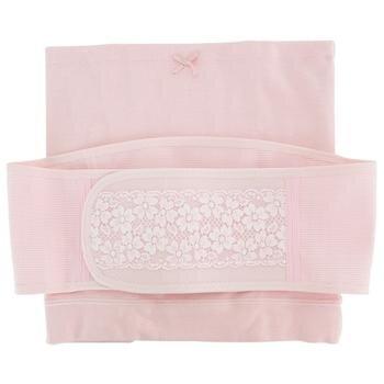 Bộ nịt bụng và đai nịt màu hồng size M-GCPG030046