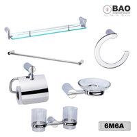 Bộ phụ kiện phòng tắm 6 món 6M6A