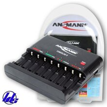 Bộ sạc pin AA, AAA Ansmann Powerline 8