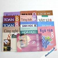 Bộ Sách Giáo Khoa Bài Học Lớp 8