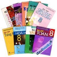 Bộ Sách Giáo Khoa Bài Tập Lớp 8