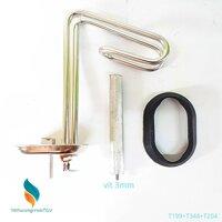 Bộ sợi đốt đa năng bát 65*20+13cm + Zoăng + Thanh magie 3mm cho Bình nóng lạnh ARISTON-PICENZA 15L (199+344+204)