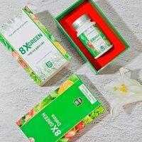 Bộ Thảo mộc giảm cân từ rau xanh 8XGREENmua 1 tặng 1 detox giữ dáng