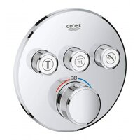 Bo Tron Am On Nhiet Grohe SmartControl 29121000 Gan Tuong