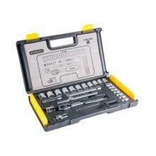 Bộ khẩu hệ mét Stanley 89-035 - 6 cạnh, 24 chi tiết