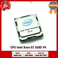 Bộ vi xử lý / CPU Intel Xeon E5 2680v4 (2.40 GHz, 14 CORES 28 THREADS, 35MB Cache)