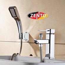 Bộ vòi chậu lavabo kết hợp sen tắm nóng lạnh Zento ZT2040