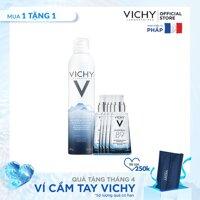 Bộ xịt khoáng dưỡng da Vichy Mineralizing Thermal Water 300ML LazadaMall