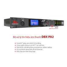 Bộ xử lý tín hiệu âm thanh DBX DriveRack PA2