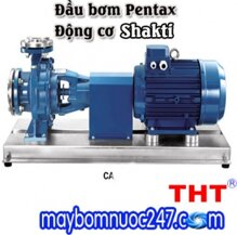 Máy bơm rời trục Pentax động cơ Shakti CA100-400B 25HP 4 cực
