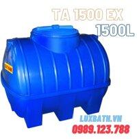 Bồn nước Tân Á 1500L ngang nhựa TA 1500 EX N