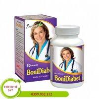 Bonidiabet phòng ngừa và điều trị tiểu đường