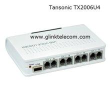 Box ghi âm điện thoại 4 kênh kết nối USB Tansonic - TX2006U4