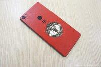 BPhone 3 – dán da bò Alran màu đỏ  D06