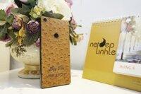 BPhone 3 – dán da dập vân đà điểu màu vàng D49