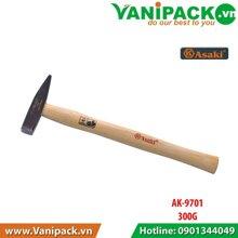 Búa đầu bằng cán gỗ Asaki AK-9701, 300g