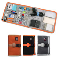 BUBM RDP Folded Travel Organizer Earphones Cable Storage Bag Wash Bag Electronics Accessories Case
