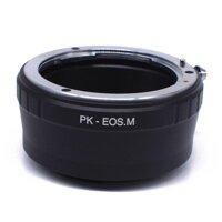 Bút Thuế PK Lens để EOSM EF-M Máy Ảnh Không Gương Lật Cơ Thể Adapter Vòng EOS M/M2/M3/M10