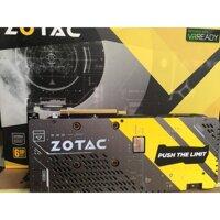 Cạc màn hình Zotac GTX 1060 6gb 3fan GDDR5X – Hàng Chính Hãng