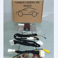 Camera hành trình 360 độ cao cấp chuẩn AHD dành cho tất cả các loại xe ô tô có sử dụng màn hình Android LV-558 - CANBUS - CAMRY 2019 TRỞ LÊN