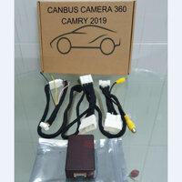Camera hành trình 360 độ cao cấp chuẩn AHD dành cho tất cả các loại xe ô tô có sử dụng màn hình Android LV-558 - CANBUS - RANGER. ECOSPORT. EVEREST 2019 TRỞ LÊN