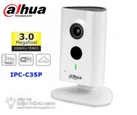 Camera IP Dahua IPC-C35P (3.0MP, wifi, goc rong)