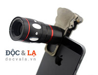 Camera Lens 4 in 1 – Tele 10x / Fish Eye 180` / Macro / Wide 0.67x