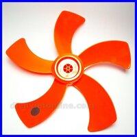 Cánh quạt 5 lá cam sải cánh 40cm xài quạt B4 loại 1 ( lỗ tròn ) - Điện Việt