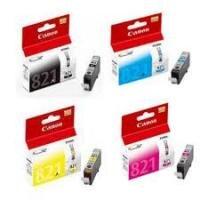 Mực in Canon CLI-821 (BK/Y/C/M/GY) - Dùng cho máy Canon MP540, MP558, MP568, MP628, MP638, MX876, iP3680, iP4680, iP4760
