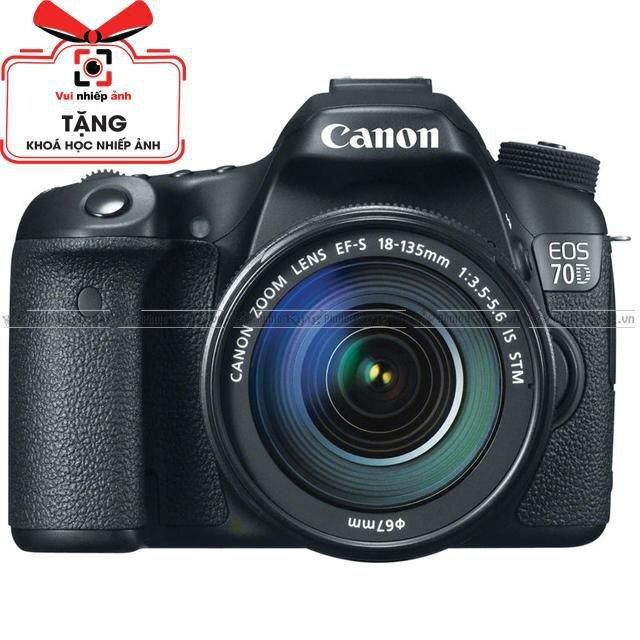 Máy ảnh DSLR Canon EOS 70D kit 18-135mm f/3.5-5.6 IS STM