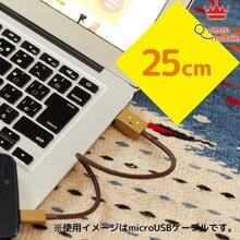 Cáp Micro USB cable 25cm (CHE-228)